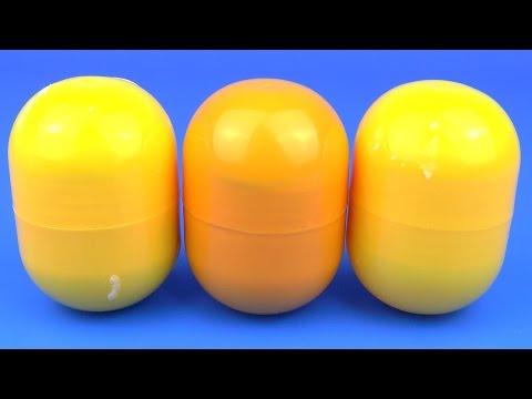 Видео: 3 Больших Сюрприз Яйца Игрушки Миньоны Шрек Хелло Китти Тачки