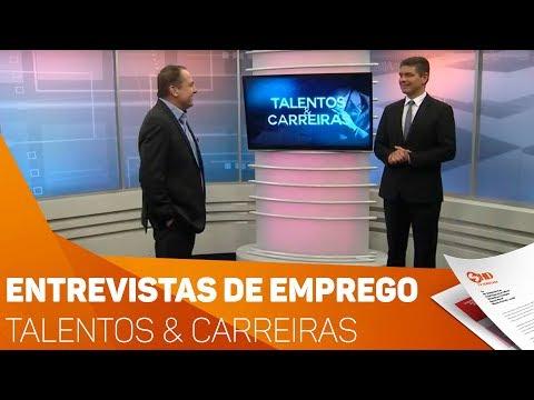 Entrevistas de emprego - Talentos & Carreiras - TV SOROCABA/SBT