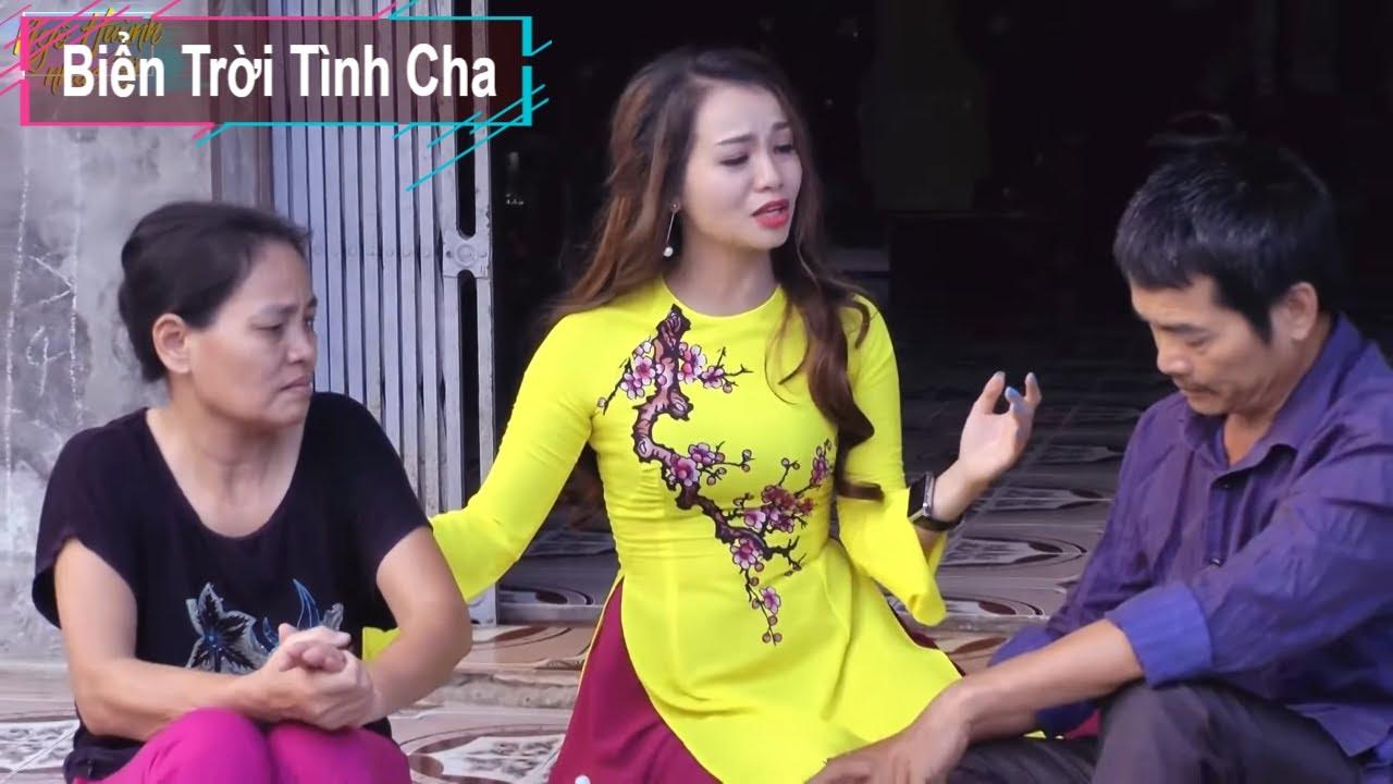 Nữ ca sĩ đẹp như Nắng ban mai hát Biển Trời Tình Cha dạt dào cảm xúc