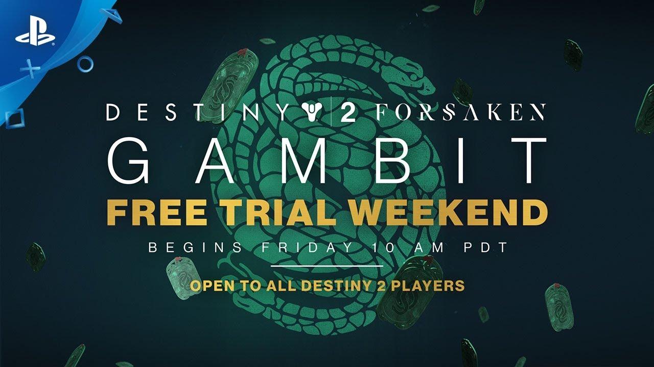 Destiny 2: Forsaken – Gambit Free Trial Weekend | PS4
