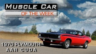 1970 Plymouth 'Cuda AAR: Muscle Car Of The Week Video Episode 223 V8TV