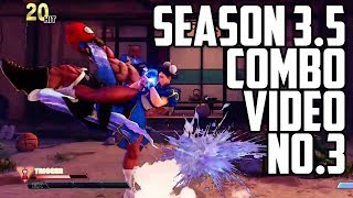 SFV: AE Season 3.5 New Combos Part 3 (Chun, Ken, Dictator, Blanka)
