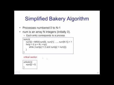 W6 L4 Bakery Algorithm