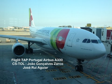 Flight TAP Portugal Airbus A330 Lisbon Airport to Rio de Jan