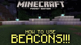 How To Use Beacons In MCPE 0.16.0!!! » How-To « Minecraft PE (Pocket Edition)