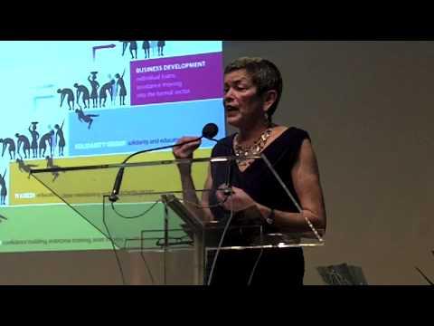 Anne Hastings talks about Fonkoze and Chemen Lavi Mayo-video Tequila Minsky