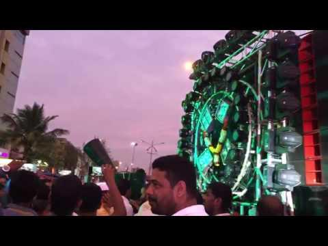Navnath vs sudarshan ganpati visarjan 2016