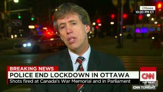Canadian MP leads children to safety
