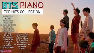 BTS Best Hits Collection 2019 Instrumental Piano Love Song Music For relaxing studying sleeping