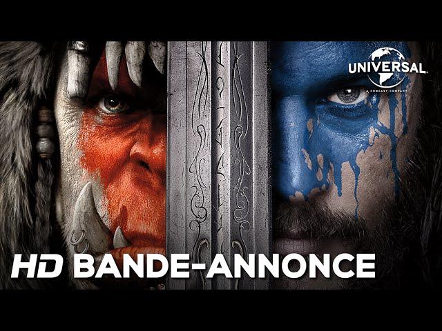Warcraft : le Commencement - Bande-annonce officielle (Universal Pictures) VOST