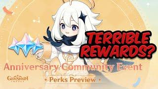 My take on the Anniversary Rewards Drama (Genshin Impact)