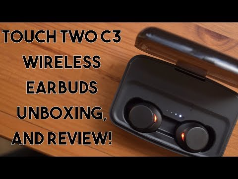 Touch Two C3 Earbuds Unboxing and Review! - YouTube