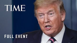 President Trump Holds A Press Briefing From The White House | TIME