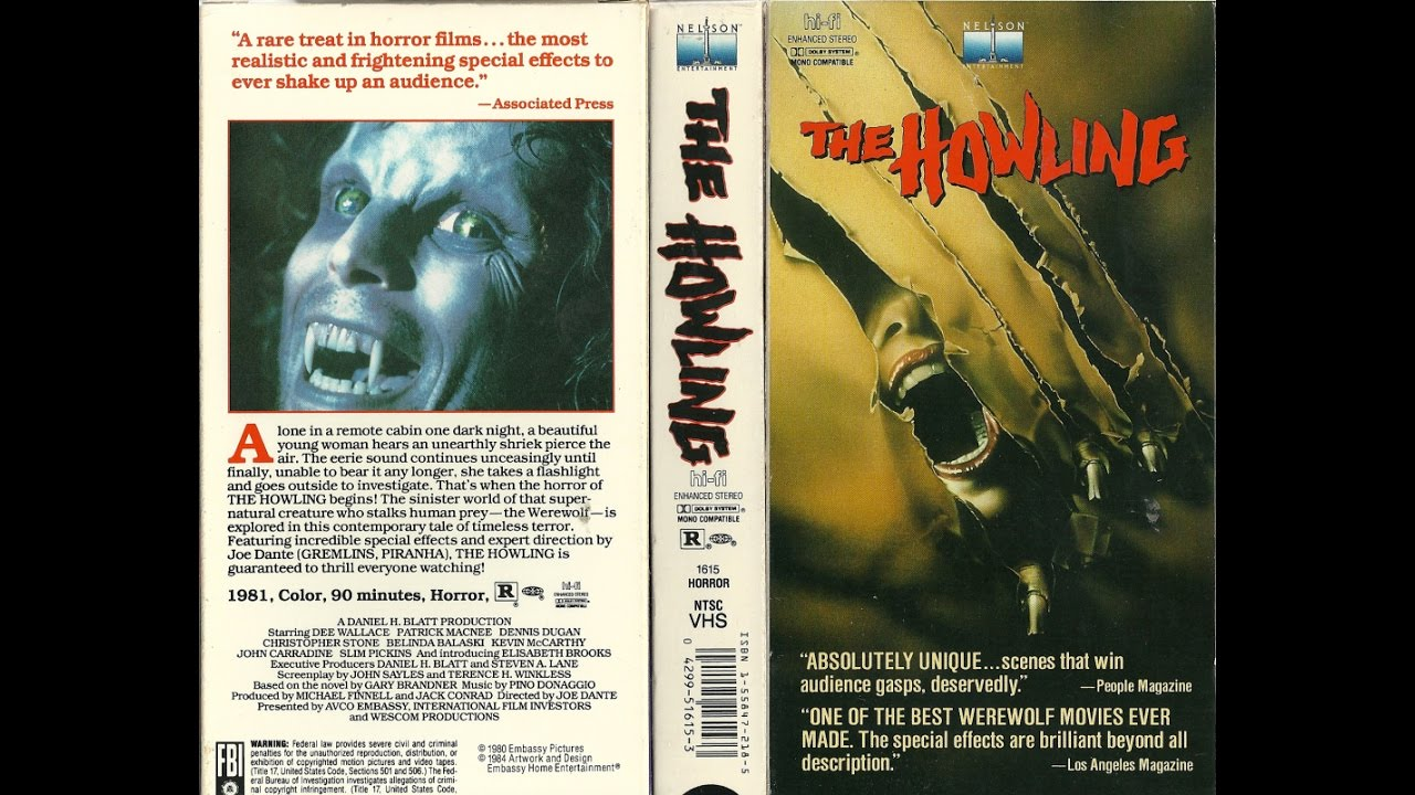 the howling movie 1981