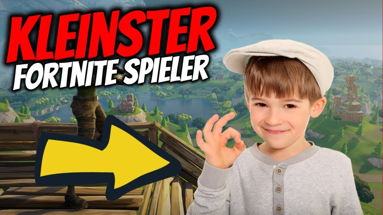 😍SÜß] JÜNGSTER Fortnite Spieler!!!🔥 ☆ BATTLE ROYALE ☆ - YouTube