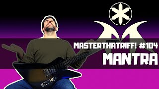 How to play MANTRA by Bring Me The Horizon - Guitar Lesson w/TAB - MasterThatRiff! 104