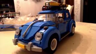 Lepin (Fake Lego) Beetle Review and Time-Lapse Build