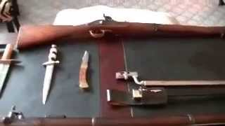 Civil War 1853 Enfield Rifle Musket and Carbine and other Weapons