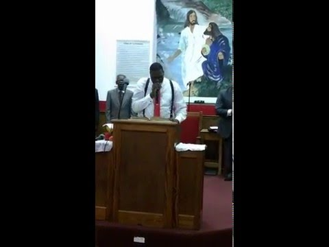 """Minister Jimmie Webster Trial Sermon- """"I'm a Terrorist to the the Devil and his Kingdom"""""""