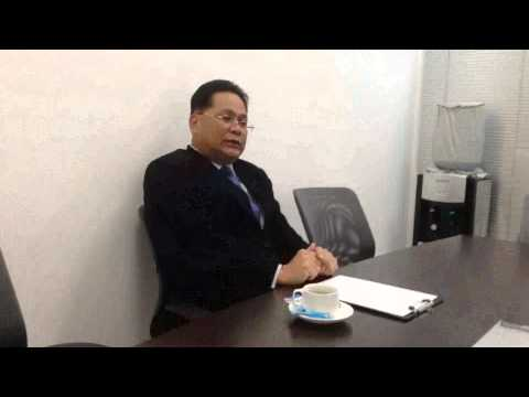 BIC of Royal Thai Embassy Yangon interview of Bangkok Bank