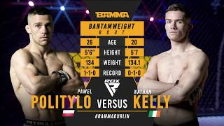 BAMMA 35: Pawel Politylo vs Nathan Kelly