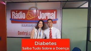 Diabetes | Entrevista Rádio Jornal Caruaru