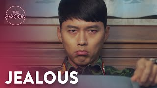 Hyun Bin gets pouty over finger hearts   Crash Landing on You Ep 5 [ENG SUB]