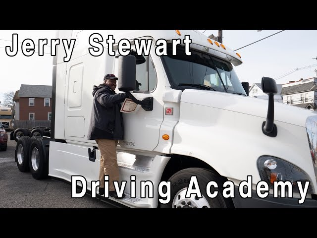 Jerry got his CDL - Driving Academy Student Testimonial