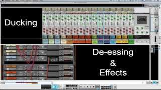 Sidechaining - Trancegate-Synth - SSL Mixer Video Series - Reason - LearnReason.com