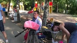 Алексей Панин снимается в новом клипе