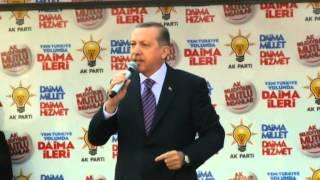 Başbakan Recep Tayyip Erdoğan Ak Parti Burdur Mitingi FULL KALİTE LOGOSUZ 27.02.2014