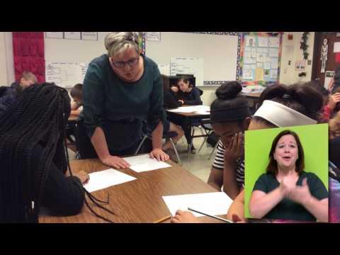 Deerpark Middle School 2018 Teacher of the Year: Melissa Bower