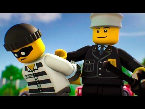 МАШИНКИ. Мультфильмы про Машинки. LEGO City - Полиция | Серия 2