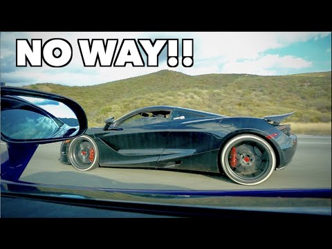 RACING ALEX CHOI'S MCLAREN 720S *Shocking Results*