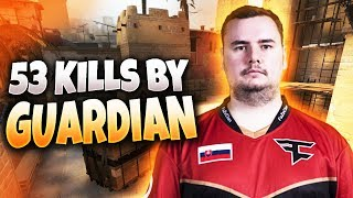 CS:GO - GuardiaN 53 frags on Mirage @ FPL