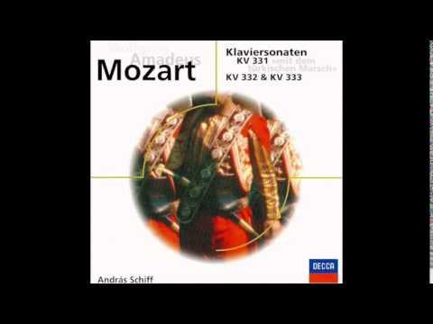 Mozart: Piano Sonata No. 11 in A, 1st movement - KV 331 - András Schiff