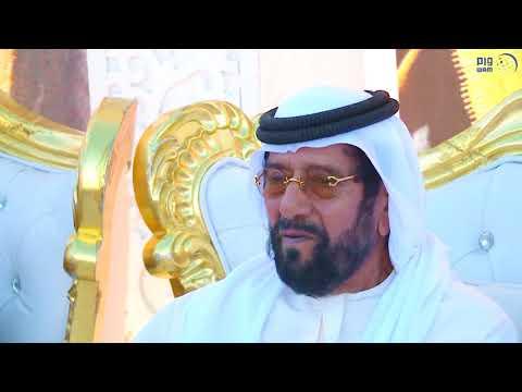 طحنون بن محمد يحضر أفراح العامري في الهير