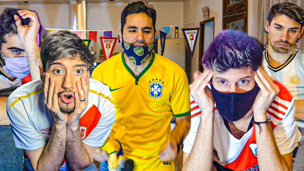 CON APUESTA de CAMISETA | Brasil 4 Perú 0 | Reacciones - Copa América 2021