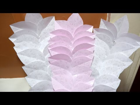 Paper Leaf Garland DIY Decoration Ideas Easy Tutorial