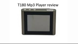 Eclipse T180 Mp3 Player Review