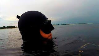 Подводная охота 24 июля 2016(Небольшое видео о подводной охоте 24 июля для рубрики дневники подводного охотника. Обычный день, обычная..., 2016-07-29T20:33:51.000Z)