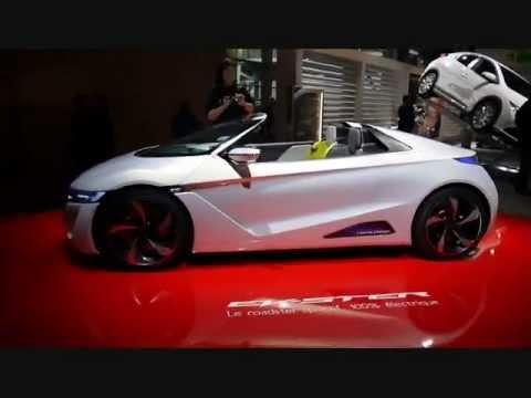 Honda EV-Ster 2012 Paris Motor Show