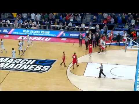 Wisconsin vs Villanova Final 2:53 of the Game
