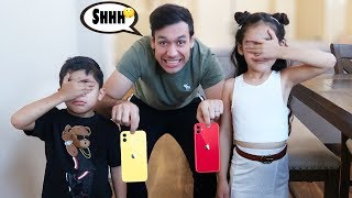 FAKE iPHONE 11 PRANK ON KIDS!! | Jancy Family
