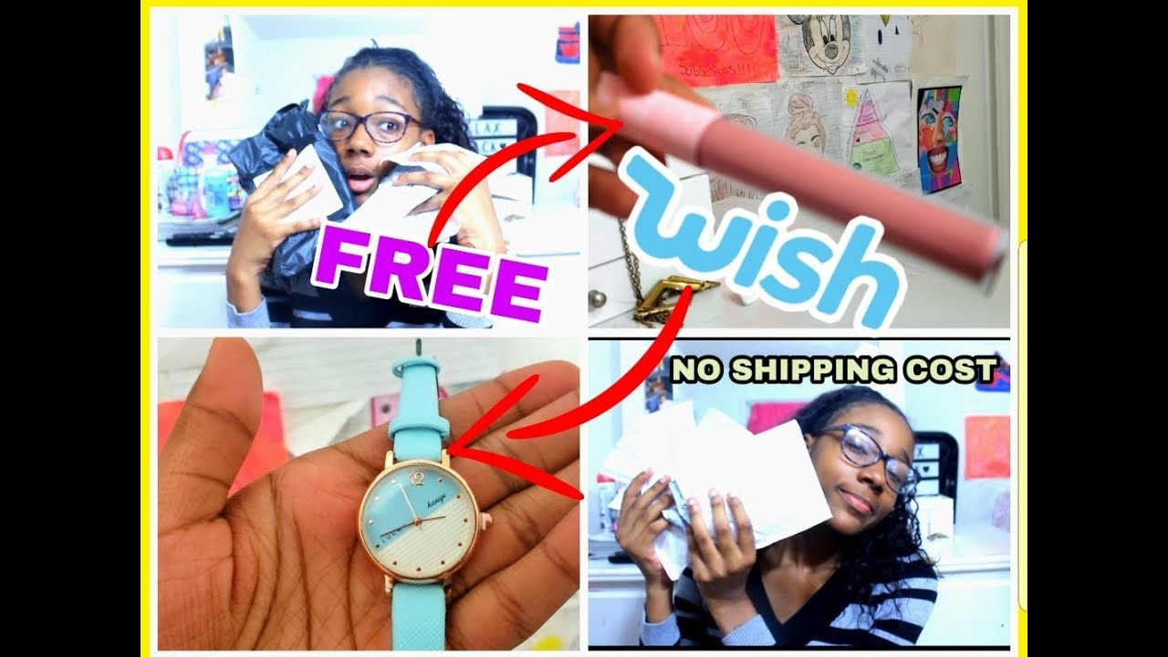 HOW TO GET FREE THINGS OFF WISH|NO SHIPPING COST (NOT CLICKBAIT)|FREE  THINGS OFF WISH