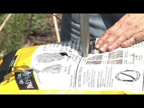 Container Gardening How to Use a Potting Soil Bags as the