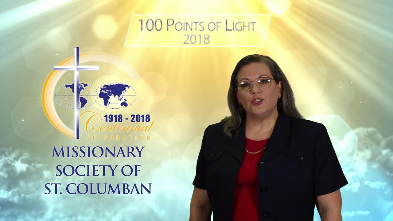 100 Points of Light - 2018 | Columban Fathers US