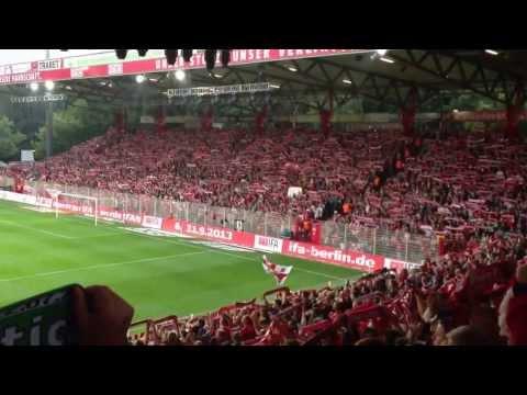 Prematch singing FC Union Stadion An der Alten Försterei