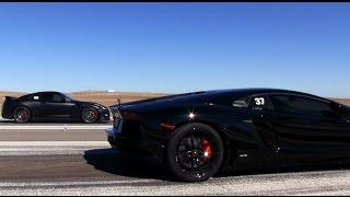 Aventador vs GTR