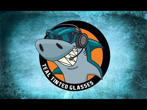 Teal Tinted Glasses 45 - Sharks Summer Officially Starts